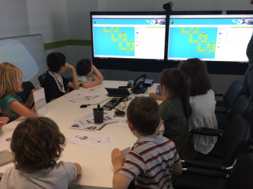 Our very first coding session